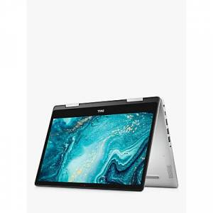 Dell Inspiron 14 5491 Convertible Laptop, Intel Core i5 Processor, 8GB RAM, 256GB SSD, 14� Full HD, Silver