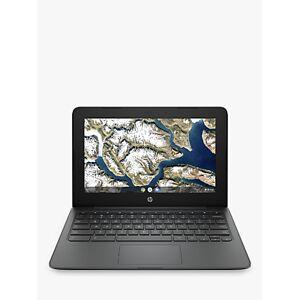 HP 11a-nb0000na Chromebook Laptop, Intel Celeron Processor, 4GB RAM, 32GB eMMC, 11.6, Grey