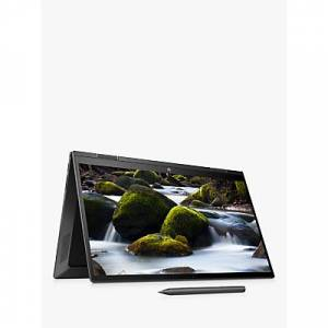 HP ENVY x360 15-ee0000na Convertible Laptop, AMD Ryzen 5 Processor, 8GB RAM, 512GB SSD, 15.6, Full HD, Black