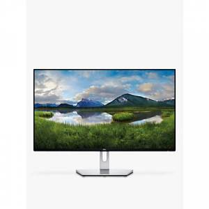 Dell S2719H Full HD Monitor, 27, Black / Silver