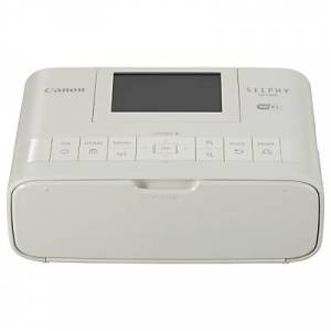 Canon SELPHY CP1300 Portable Photo Printer with Wi-Fi, Apple AirPrint & 3.2 Tiltable Display  - White