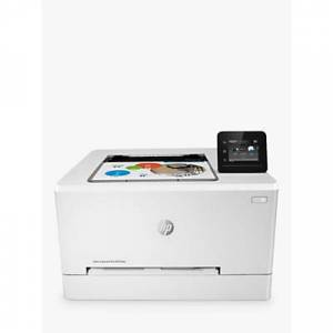 HP LaserJet Pro M255DW Wireless Colour Printer with Wi-Fi & Instant-On Technology, White