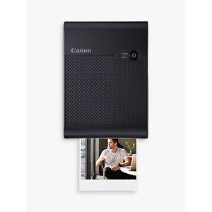 Canon SELPHY Square QX10 Mobile Photo Printer  - Black