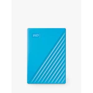 Western Digital My Passport Portable Hard Drive, 4TB  - Blue