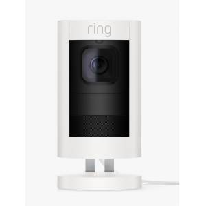 Ring Stick Up Cam Elite Smart Security Camera with Built-in Wi-Fi, Wired  - White