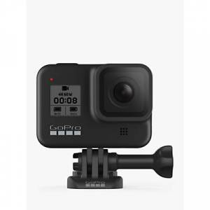 GoPro HERO8 Black Camcorder, 4K Ultra HD, 60 FPS, 12MP, Wi-Fi, Waterproof, GPS