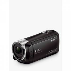 Sony CX405 Handycam with Exmor R CMOS Sensor, HD 1080p, 2.29MP, 30x Optical Zoom, 2.7 LCD Screen, Black
