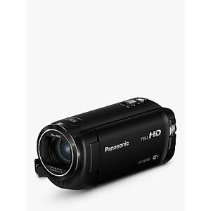 Panasonic HC-W580EB-K Camcorder, Wi-Fi, HD 1080p, High Dynamic Range 2.5MP Movie/10MP Still, 50x Optical Zoom, 90x Intelligent Zoom, 2.7 Wide LCD Touch Monitor