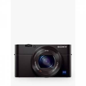 Sony Cyber-shot DSC-RX100 IV Camera, 4K, 20.1MP, 2.9x Optical Zoom, Wi-Fi, NFC, OLED EVF, 3 Tiltable Screen