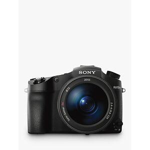 Sony Cyber-Shot DSC-RX10 III Bridge Camera, 4K Ultra HD, 20.1MP, 25x Optical Zoom, Wi-Fi, NFC, EVF, 3 LCD Vari-Angle Screen