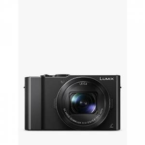 Panasonic Lumix DMC-LX15 Camera, 4K Ultra HD, 20.1MP, 3x Optical Zoom, 3� LCD Tiltable Touch Screen, Black