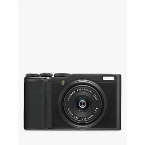 Fujifilm XF10 Digital Compact Camera with 18.5mm Wide Angle Lens, 4K UHD, 24.2MP, Wi-Fi, Bluetooth, 3 LCD Touch Screen  - Black