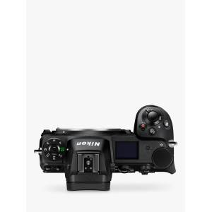 Nikon Z6 Compact System Camera, 4K UHD, 24.5MP, Wi-Fi, Bluetooth, OLED EVF, 3.2 Tiltable Touch Screen, Body Only  - Black