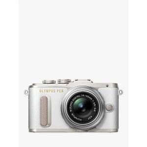 Olympus PEN E-PL8 Compact System Camera with 14-42mm II R Lens, HD 1080p, 16.1MP, Wi-Fi, 3 LCD Touch Screen
