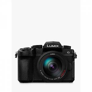 Panasonic Lumix DC-G90HEB-K Compact System Camera with 14-140mm Power OIS Lens, 4K Ultra HD, 20.3MP, Wi-Fi, Bluetooth, OLED Live Viewfinder, 3� OLED Vari-Angle Touch Screen, Black