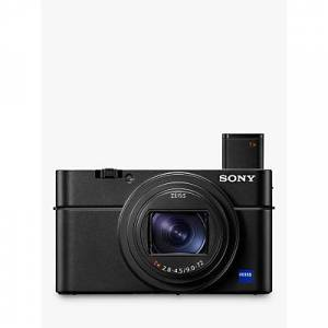 Sony Cyber-shot DSC-RX100 VII Camera, 4K, 20.1MP, 8x Optical Zoom, Wi-Fi, Bluetooth, NFC, OLED EVF, 3 Tiltable Touch Screen