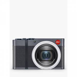 "Leica C-Lux Compact Camera with 24-360mm Lens, 4K Ultra HD, 20MP, Wi-Fi, Bluetooth, EVF, 3"" Touch Screen  - Midnight Blue"