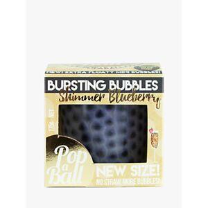 POPABALL Shimmer Bursting Bubbles Blueberry, 175g
