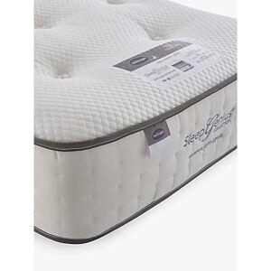 Silentnight Sleep Genius 2200 Pocket Latex Mattress, Medium/Firm Tension, Single