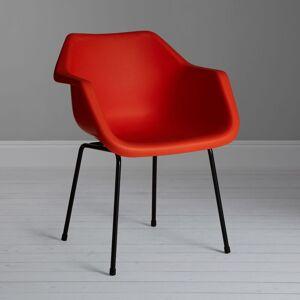 Robin Day Polypropylene Armchair  - Flame Orange