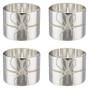 Vera Wang for Wedgwood Love Knots Napkin Rings, Set of 4