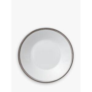 Vera Wang for Wedgwood Lace Platinum Tea Saucer, Dia.12cm, White  - White