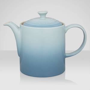 Le Creuset Stoneware Grand Teapot, 1.3L  - Coastal Blue