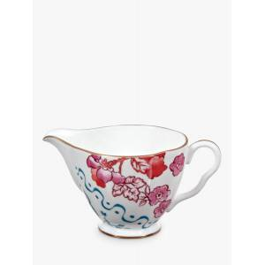 Wedgwood Butterfly Bloom Sugar Bowl and Creamer