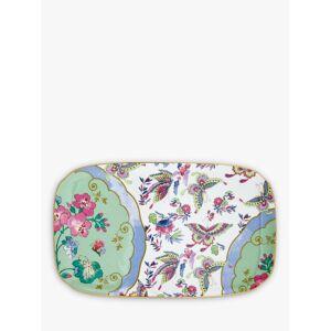 Wedgwood Butterfly Bloom Sandwich Tray, Green/Multi