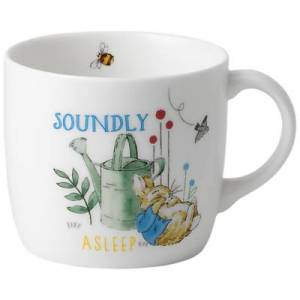 Wedgwood Beatrix Potter Peter Rabbit Soundly Asleep Wedgwood Mug
