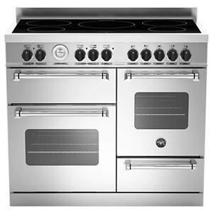 Bertazzoni Master Series 100cm Induction Range Cooker  - Stainless Steel