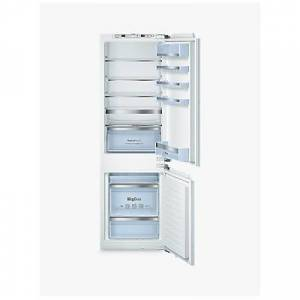 Bosch KIN86AD30G Integrated 60/40 Fridge Freezer, Fixed Door Hinge, A++ Energy Rating, 56cm Wide