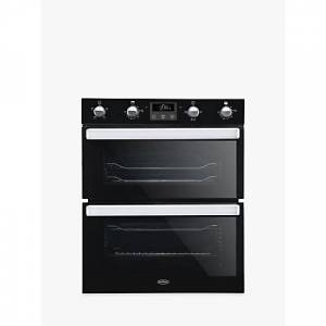 Belling BI702FPCT Built-Under Double Electric Oven, A Energy Rating  - Black