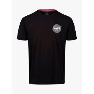 Alpha Industries X NASA Space Shuttle Jersey Cotton T-Shirt, Black  - Black - Size: 2X-Large