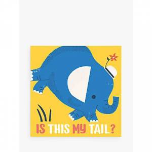 The Book Service Is This My Tail Elephant Children's Book