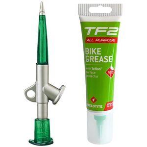Weldtite TF2 Bike Grease With Teflon & Grease Gun 125ml