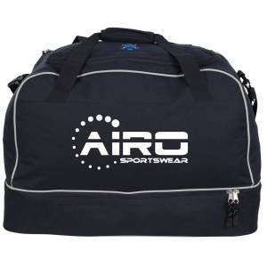Islington Police Warthogs RFC - Medium Airosportswear Players Holdalls - Navy/Silver