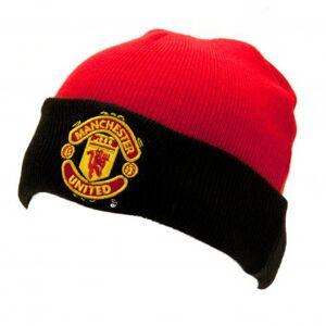 Manchester United Core Cuffed Junior Beanie