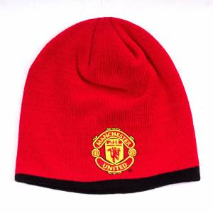 Manchester United Core Roll Down Beanie
