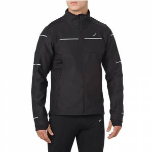 Asics Liteshow Mens Winter Jacket, Black / L