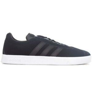 adidas VL Court 2.0 Vulc Mens Trainer, Black / UK 10