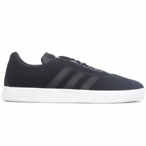 adidas VL Court 2.0 Vulc Mens Trainer, Black / UK 10