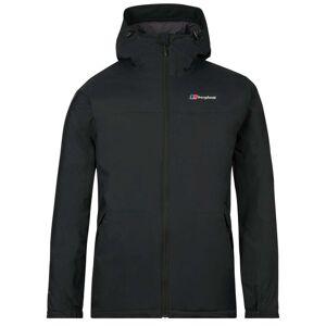Berghaus Deluge Pro Insulated Mens Jacket, Black / L