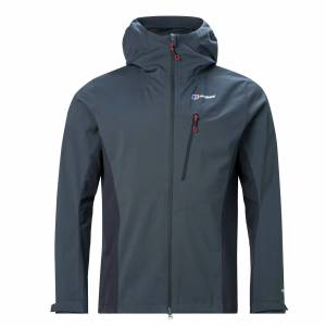Berghaus Taboche Mens Windproof Softshell Jacket, Grey / L