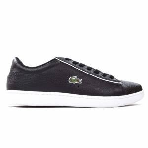 Lacoste Carnaby Evo 120 3 Mens Trainer, Black / UK 9