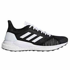 adidas Solar Glide ST Womens Running Trainer, Black / UK 9