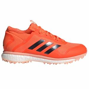 adidas Fabela X Womens Field Hockey Shoe, Orange / UK 5