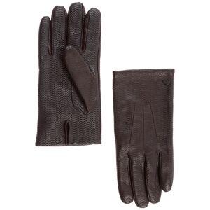 Emporio Armani Men's leather gloves  - Men - Brown - Size: Medium