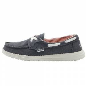 Hey Dude LILY CLASSIC CANVAS NAVY Size: UK5 / EU38