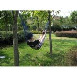 Newchic Multi-color Outdoor Camping Traveling Nylon Net Hammock Sleeping Bed